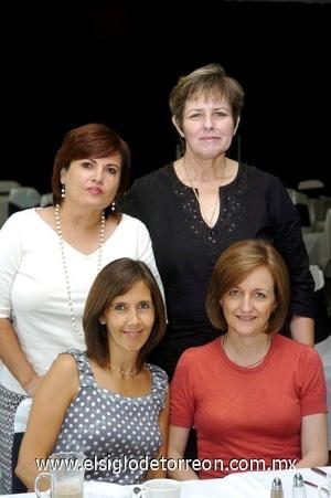 16082008 Angelines de Vera, Marina de García, Claudia de Martínez y Elena de Villarreal