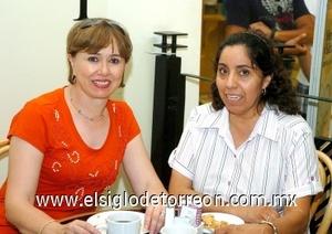 17082008 Margarita de Rivera y Gloria de Valenzuela.