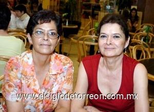 17082008 Rosario de Sánchez y Mara Medinilla.