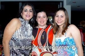 17082008 Alicia Arce, Coler Cisneros y Yasdi Castillo