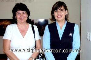 17082008 Gaby Nava y Cristina Matouk
