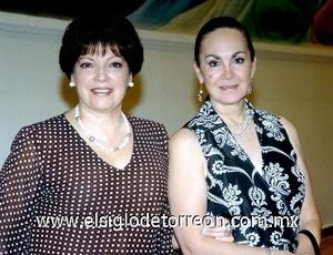17082008 Olga Estrada y Yeye Romo.