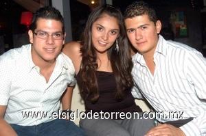 18082008 Jesús Acosta, Georgina Carreón y Ángel Pacheco