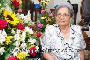 20082008 Doña Raquel Zapata Márquez, en su 85 aniversario de vida.
