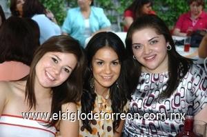 21082008 Elizabeth Arroyo, Ana Isabel Urquizo y Alicia Reyes