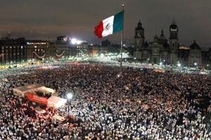 """¡Que se vayan si no pueden contra el secuestro, la violencia y la impunidad! exigieron miles de participantes en la marcha """"Iluminemos México"""" que se llevó a cabo en todo el país. Aunque se dijo que sería una demostración silenciosa, en varias partes estalló el reclamo: ¡Ya basta!"""