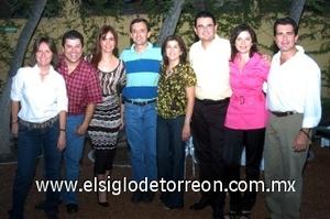 23082008
 Muñeca Berlanga, Tim Araiza, Lucero Galindo, Fito González, Lety Ávila, Luis López, Martha Ramón y Sergio Villarreal, comité organizador
