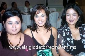 23082008 Julio Moreno, Ceci Rodríguez y Nena Rodríguez