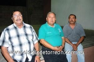 24082008 Antonio Villa, Cornelio Medina y Rodolfo Hernández.