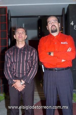 24082008 Eduardo Alemán y Eduardo Castillo.