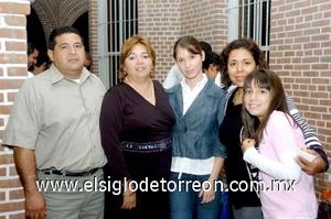 24082008 Javier Rodríguez, Ana María Martínez, Rosy Plascencia, Mayela de Cabrera y Ana Sofía Anguiano