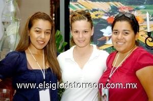 24082008 Liliana Vázquez, Ximena Martínez y Paola Vázquez