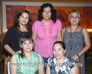 24082008 Lulú de Marmolejo, Zoila de Quintero, Carmen de Ramírez, Rita de Iglesias y Rosario de Sánchez