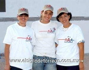 24082008 Mayela Medina, Roxana Pérez y Cecilia Cardiel.