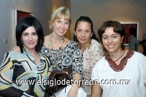 24082008 Salva Juan Marcos, Alicia Sáenz, Adolfina Gutiérrez y Rossana Conte.