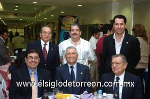 27082008 Javier Ruiz, Mario Carrillo, Ricardo Ventura, Guillermo Contreras, Guillermo Milán y Luis Carlos Reyes