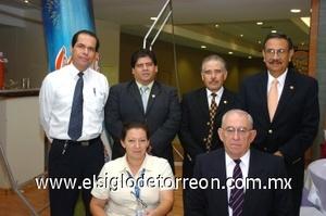 27082008 Jesús Martínez, Ricardo Ruiz, Raúl Pérez, Miguel Vázquez, Marcela León y Rogelio.