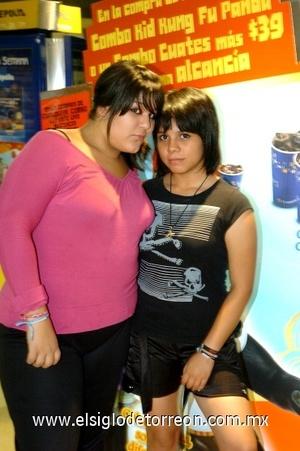 29082008 Daniela Mohr y Andrea Becerra