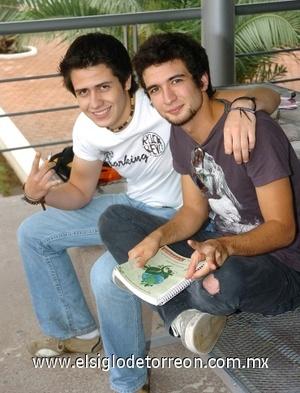 30082008 Christian Nájera y José Saborit.
