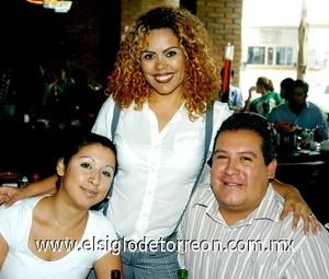 31082008 Hirami Alvarado, Marisol Lugo y David Rivera.