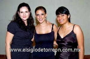 31082008 Eva Albores, Rosa Cedillo y Cristina Cárdenas.