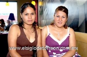 31082008 Elsa Ruiz y Cecilia Cabrera
