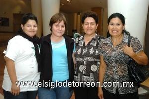 31082008 Daniel Alejandro Herrera, Angélica Ramírez, Angélica Rentería y Morena Díaz.