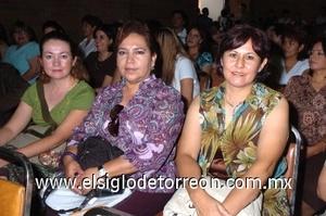 31082008 Angélica Aguilar, Isela Ramírez y Cecilia Rendón.