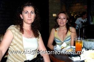 31082008 Tere Zurita y Margarita Barker