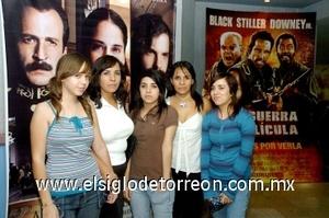 31082008 Rocío y Aracely Luna, Karla Rivas, Anayeli y Ana Cris Luna.