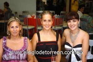 31082008 Olga Muñoz, Cristina y Rocío Beltrán Alba.