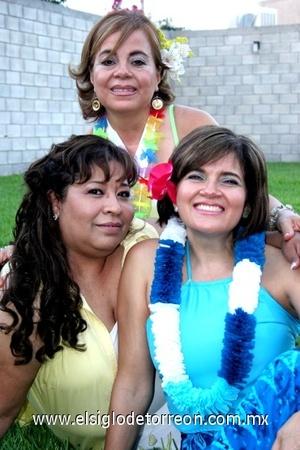 31082008 María Luisa de Tovar, Ángeles González y Cecilia Ávalos