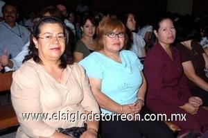 31082008 María Estela, Juana Lilia y Norma.