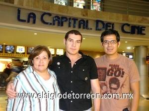 31082008 Mary Carmen Gómez, Héctor Javier Pérez y Arturo Luna.