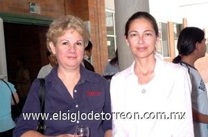 31082008 Martha Piña y Ana Negrete.