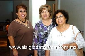 31082008 Martha Fuentes, Emma Carrera y Lety Figueroa.