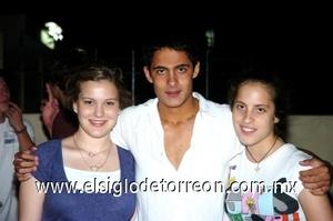 31082008 Martha Alarcón, Germán y Ana Luisa González.