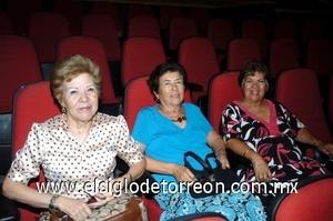 31082008 Lety González, Hilda Orozco y Martha Silva.