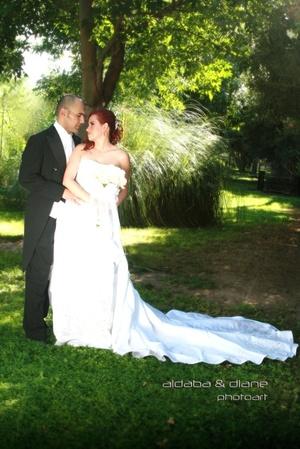 Sr. Jesús Fernando Castro Padilla y Srita. Alicia Ivonne Simental Martínez contrajeron matrimonio en la parroquia de Cristo Rey, el viernes 11 de julio de 2008. <p> <i>Aldaba & Diane Fotografía</i>