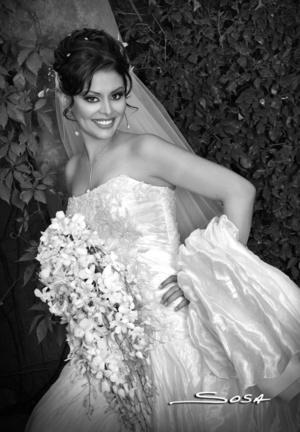 Srita. Mariana Ramos Álvarez unió su vida en  sagrado matrimonio a la del Sr. Rafael Arista Rodríguez.  <p> <i>Studio Sosa</i>