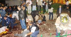 La segunda explosión se dio poco después, a cuatro cuadras de la plaza.