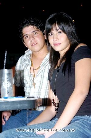 05102008 Álvaro Miranda y Flor Rosales