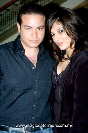 08102008 Rafael Sánchez y Cecilia Reyes