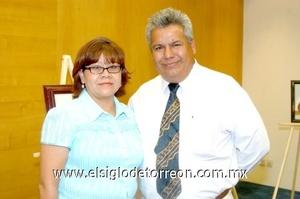 12102008 Lidia González y Ricardo Espino.