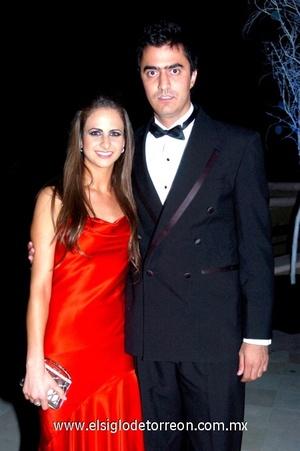 14102008 Diana Zarzar y Sergio Campa.