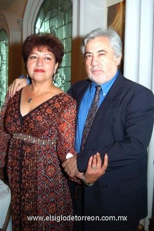 14102008 Romy Elizondo y Sergio Muleiro.