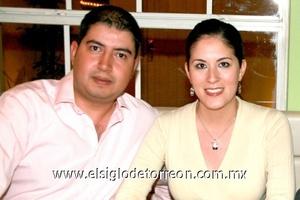 Elías Farachada y Silvia Tolentino.