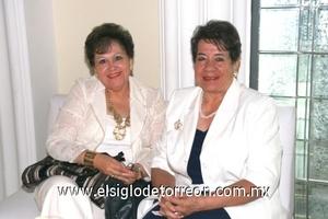 Julieta Aguilera de Soto y Dora de Núñez.