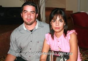 Francisco Velez y Nuria Rubalcava.