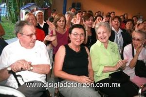 Enrique Luengo, Malena Luengo González de Siller y Elena González de Luengo.